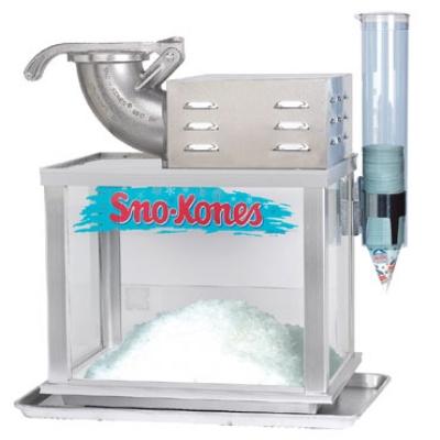 industrial size snow cone machine